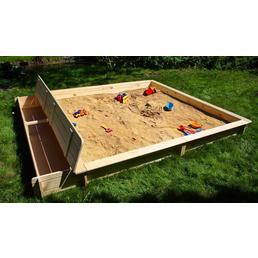 PROMADINO Sandkasten »Yanick«, BxLxH: 248x225x21 cm