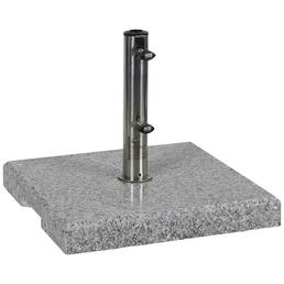 Schirmständer »GARDEN LIVING«, Edelstahl/Granit, Rohrdurchmesser: 25/32/38/48 mm