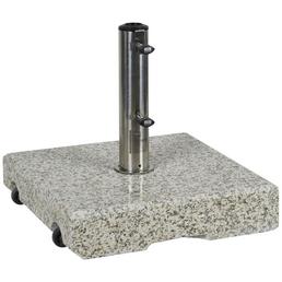 CASAYA Schirmständer »GARDEN LIVING«, Edelstahl/Granit, Rohrdurchmesser: 32/38/48/52/60 mm
