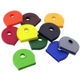 GECCO Schlüsselkappe, Kunststoff, 5 Stück