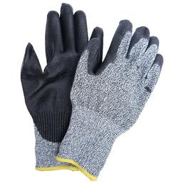 MR. GARDENER Schnittschutzhandschuhe, Größe: 10, grau/schwarz, Nitrilbeschichtet
