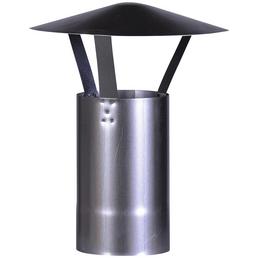 FIREFIX® Schornstein-Regenhaube, Ø: 12 cm, Stärke: 0,6 mm, Stahl