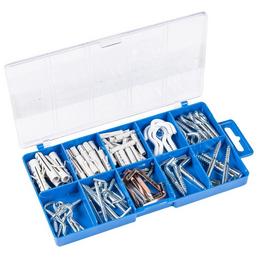 CONNEX Schraubhaken-Set, für verschiedene Befestigungen, Stahl