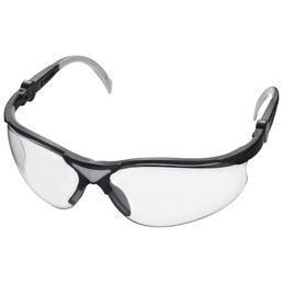 CONNEX Schutzbrille, Kunststoff, grau