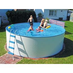 KWAD Schwimmbecken »Steely «, rund, Ø x H: 350 x 120 cm