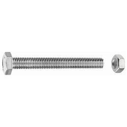 GECCO Sechskantschraube, 5 mm, Edelstahl, 4 Stück