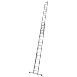 KRAUSE Seilzugleiter »MONTO Robilo«, 30 Sprossen, Aluminium