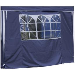 BELLAVISTA Seitenteile, blau, Breite: 290 cm, Polyester, mit Fenster