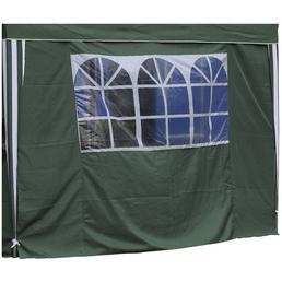 BELLAVISTA Seitenteile, Breite: 290 cm, Polyester, grün, mit Fenster