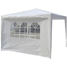 BELLAVISTA Seitenteile, weiß, Breite: 290 cm, Polyethylen, mit Fenster