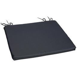 CASAYA Sitzkissen,  grau, Uni, BxL: 38 x 38 cm