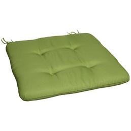 CASAYA Sitzkissen,  grün, Uni, BxL: 45 x 45 cm