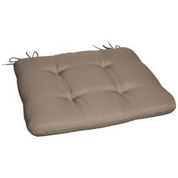 CASAYA Sitzkissen, Sitzkissen, grau, BxL: 45 x 45 cm