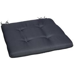 CASAYA Sitzkissen, Sitzkissen, grau, Uni, BxL: 45 x 45 cm