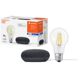 LEDVANCE Smart Home Starter-Kit, E27, 2700 K, warmweiß, 650 lm
