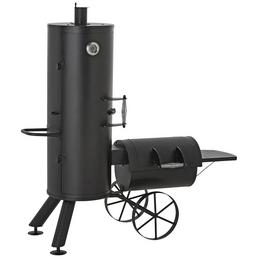 ACTIVA Smoker »Springfield«, Metall, schwarz