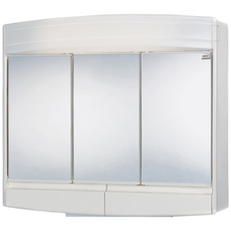 JOKEY Spiegelschrank »Topas Eco«, 3-türig, LED, BxH: 60 x 53 cm