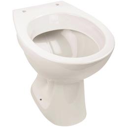 aquaSu® Stand WC »Universal«, Tiefspüler, weiß, mit Spülrand