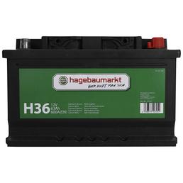 Starterbatterie, 12V/63 AH KSN H36