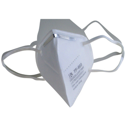 Staubschutzmaske, KN 95, Weiß, Gewebe, 5 Stück
