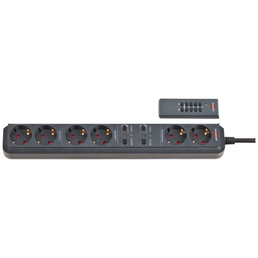Brennenstuhl® Steckdosenleiste »RC EL1 1001«, 6-fach, Kabellänge: 1,5 m