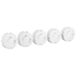 DÜWI Steckdosenschutz, Ohne Entnahmeadapter, Weiß, Kunststoff