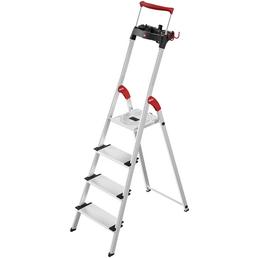 HAILO Stehleiter, L95 HB, Kunststoff | Aluminium