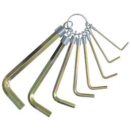 CON:P Stiftschlüsselsatz 8-teilig, Schlüsselgröße: 2; 2,5; 3; 4; 5; 6; 8; 10 mm
