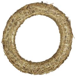 CASAYA Strohkranz, Ø 30 cm, natur, Stroh