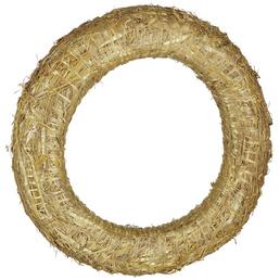 CASAYA Strohkranz, Ø 35 cm, natur, Stroh