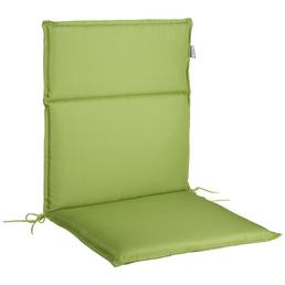 CASAYA Stuhlauflage, Niederlehner, grün, Uni, BxL: 50 x 100 cm