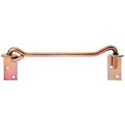 GAH ALBERTS Sturmhaken, mit Winkelplatten, Rohstahl, Gold | Irisierend