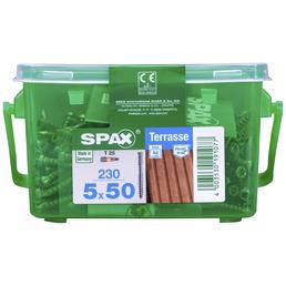 SPAX Terrassenschraube, T-STAR plus, 230 Stk., 5 x 50 mm