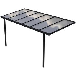 GARDENDREAMS Terrassenüberdachung »Easy Edition«, Breite: 600 cm, Dach: Polycarbonat (PC), anthrazit