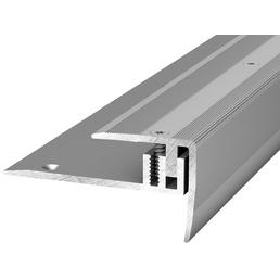 CARL PRINZ Treppenkantenprofil »LPS 220«, BxHxL: 27 x 27 x 2500 mm, silberfarben