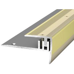 PRINZ Treppenkantenprofil »LPS 220«, goldfarben, BxLxH: 27 x 1000 x 27 mm