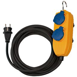 Brennenstuhl® Verlängerungskabel »Powerblock 1169200010«, 4-fach, Kabellänge: 5 m