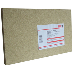 FIREFIX® Vermiculite-Platte, Eckig, Stein