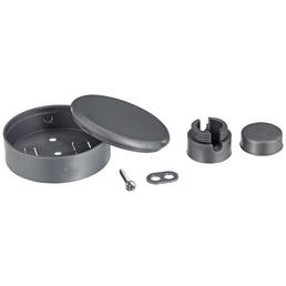 REV Verteiler-Baldachin, 1-fach, Silber, Kunststoff