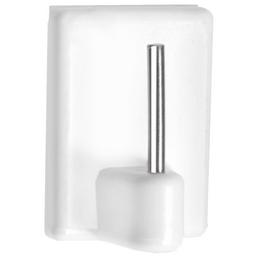 CONNEX Vitragenhäkchen, Kunststoff, weiß, Ø 1,75 mm