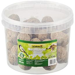GARTENKRONE Vogelfutter »Meisenknödel ohne Netz«, 1 Eimer à 4250 g