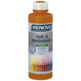 RENOVO Voll- und Abtönfarbe, signalgelb, 500 ml