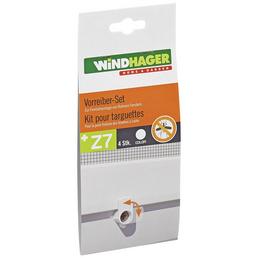 WINDHAGER Vorreiber-Set Weiß