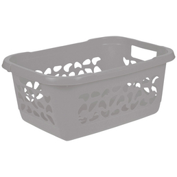 Wäschekorb, grau