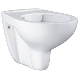 GROHE Wand WC »Bau Keramik«, Tiefspüler, alpinweiß, spülrandlos