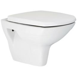 aquaSu® Wand WC »igenO«, weiß, eckig