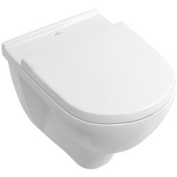 VILLEROY & BOCH Wand-WC »O.NOVO«, inkl. WC-Sitz mit Absenkautomatik