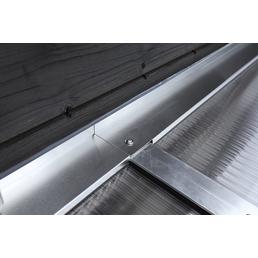 SKANHOLZ Wandanschlussprofil-set, B x H: 648 x 648 cm, Aluminium, Farbe: silberfarben