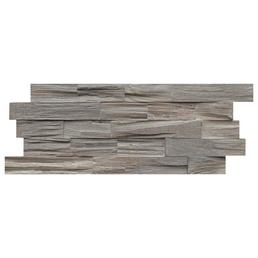 INDO Wandverblender »INDO TEAK«, grau, geölt, Holz, Stärke: 18 mm