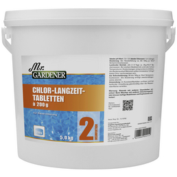 Wasserpflege »Chlor - Langzeit Tabletten «, Chlor - Langzeit Tabletten , für Pools